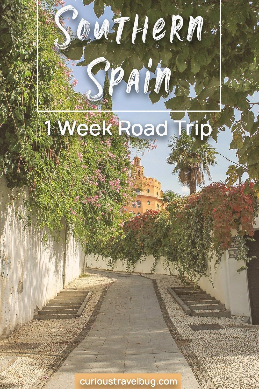 Must See Andalucia 7 Day Southern Spain Road Trip Itinerary #travelbugs