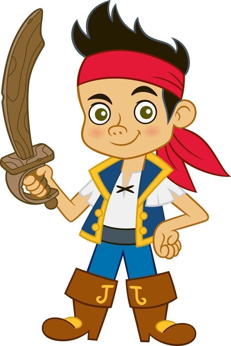 2 99 Jake And The Neverland Pirates Iron On T Shirt
