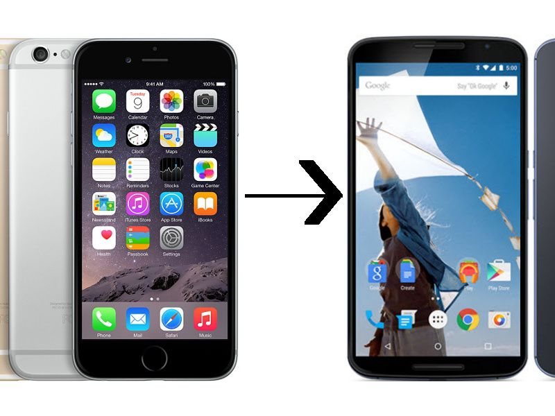 How To Migrate From iPhone iOS to Android Without Losing