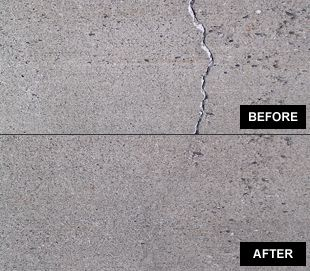 Concrete Crack Repair. Before And After. @universalengg | Concrete ...
