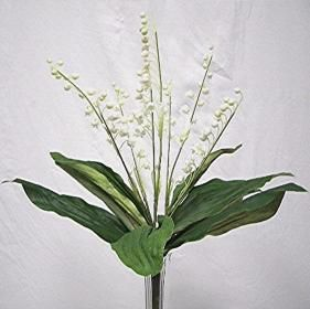 """16.50"""" tall lily of the valley plant (1 piece left) 4"""