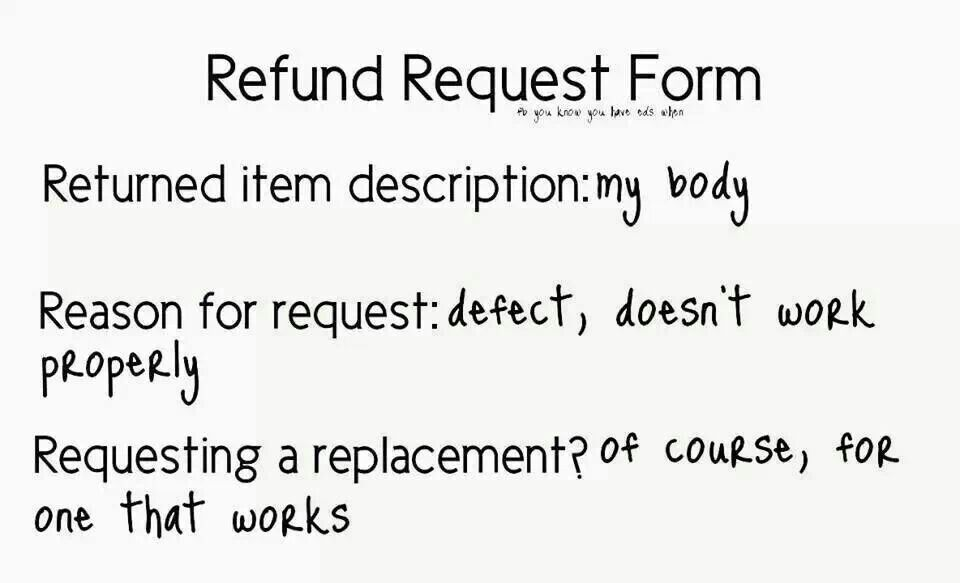 Rsdsaorg My Health Pinterest Crps - refund request form