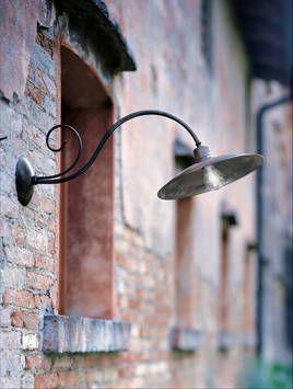 Wall Lamp Barchessa Br Copper