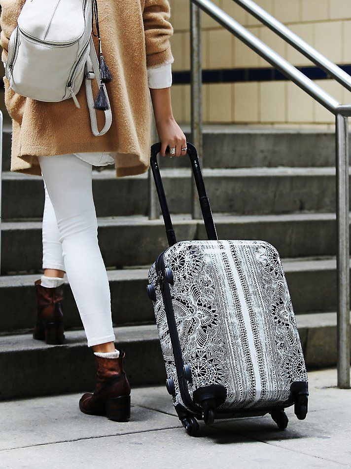 e2acde857 8 Chic Pieces of Carry-on Luggage To Ditch Old Faithful For | T R A V E L |  Carry on luggage, Bags, Carry on suitcase