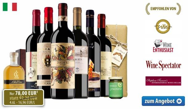 Das BELViNi.DE Toskana-Probierpaket 2013 mit satten 15% Preisvorteil - http://weinblog.belvini.de/belvini-toskana-probierpaket