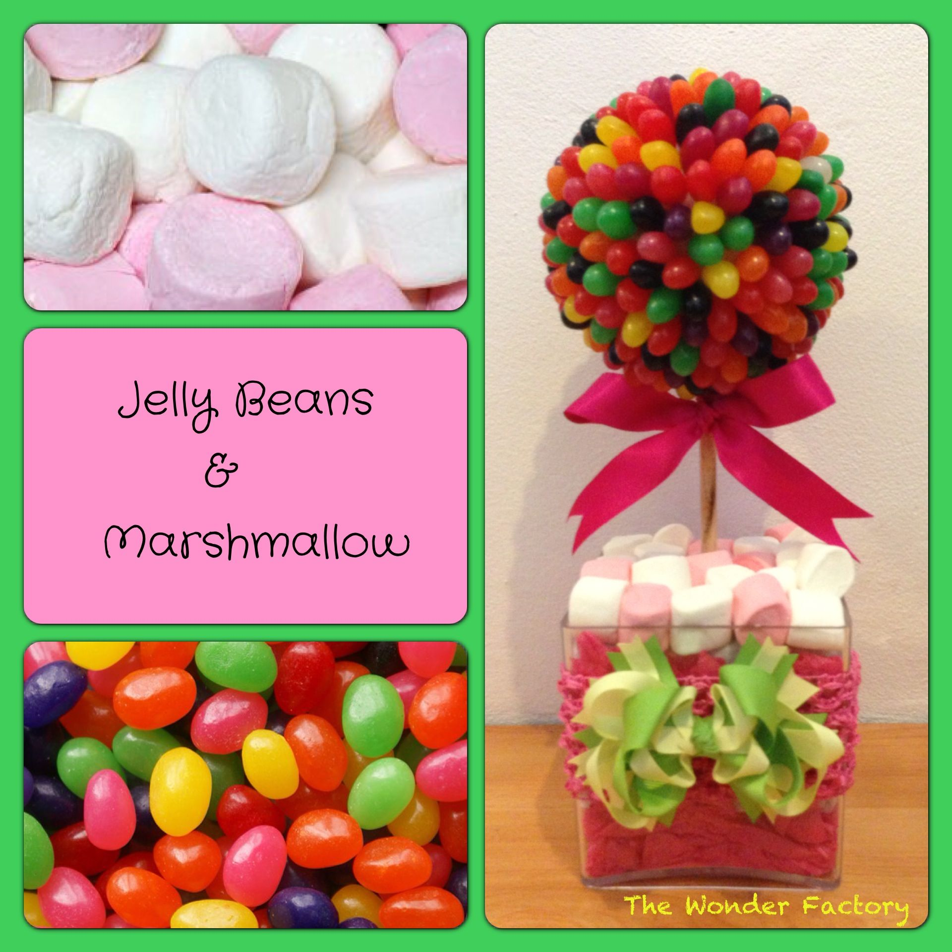 Jelly Bean bouquet topiary Lolly bouquet FB - The Wonder Factory ...