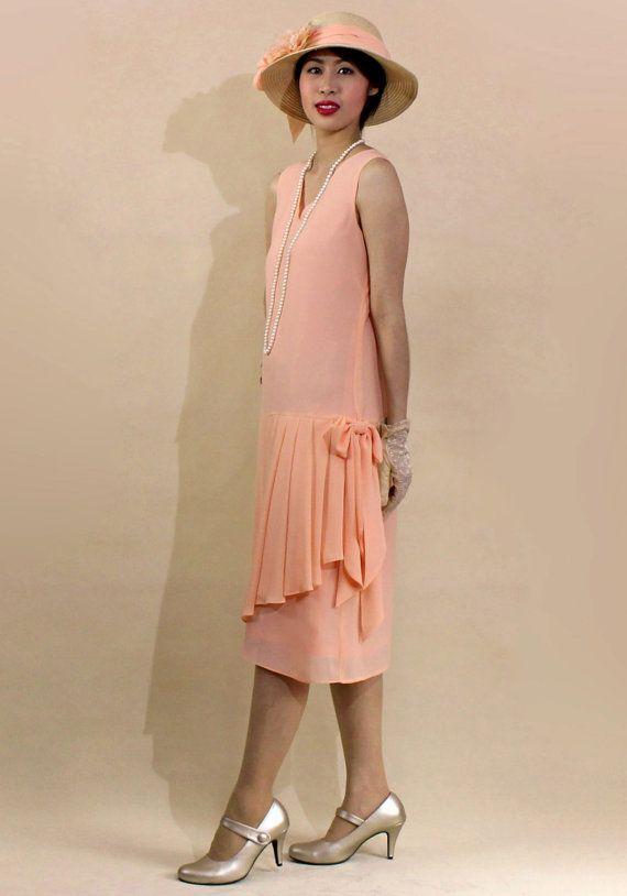 1920s day dresses tea dresses mature dresses with. Black Bedroom Furniture Sets. Home Design Ideas