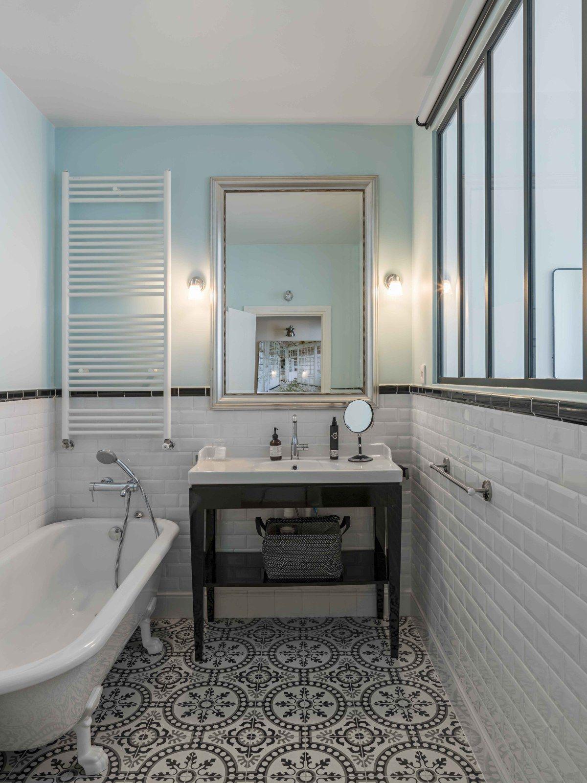 Un Appartement Parisien Renove Par Une Architecte Idees