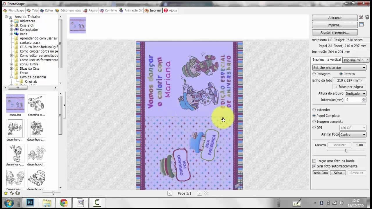Como Fazer Livro De Colorir Em Casa Usando Photoscape Dicas Da
