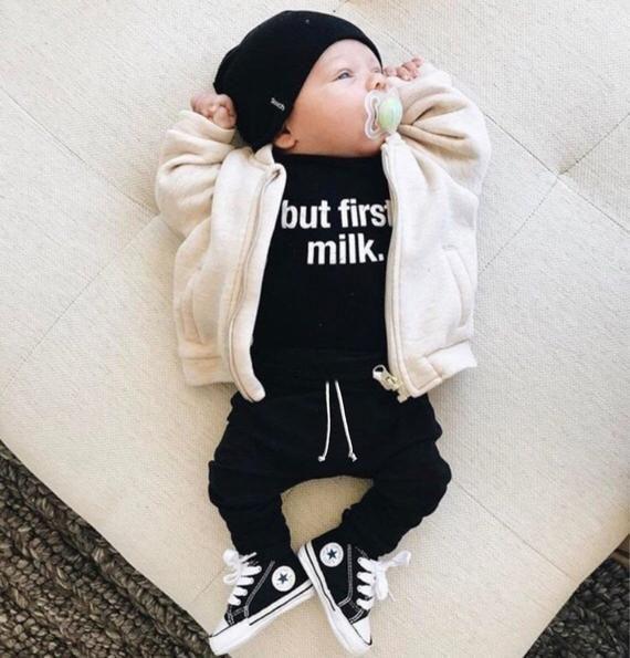 Photo of #Baby #basic #Black #boy #clothes #Drawstring