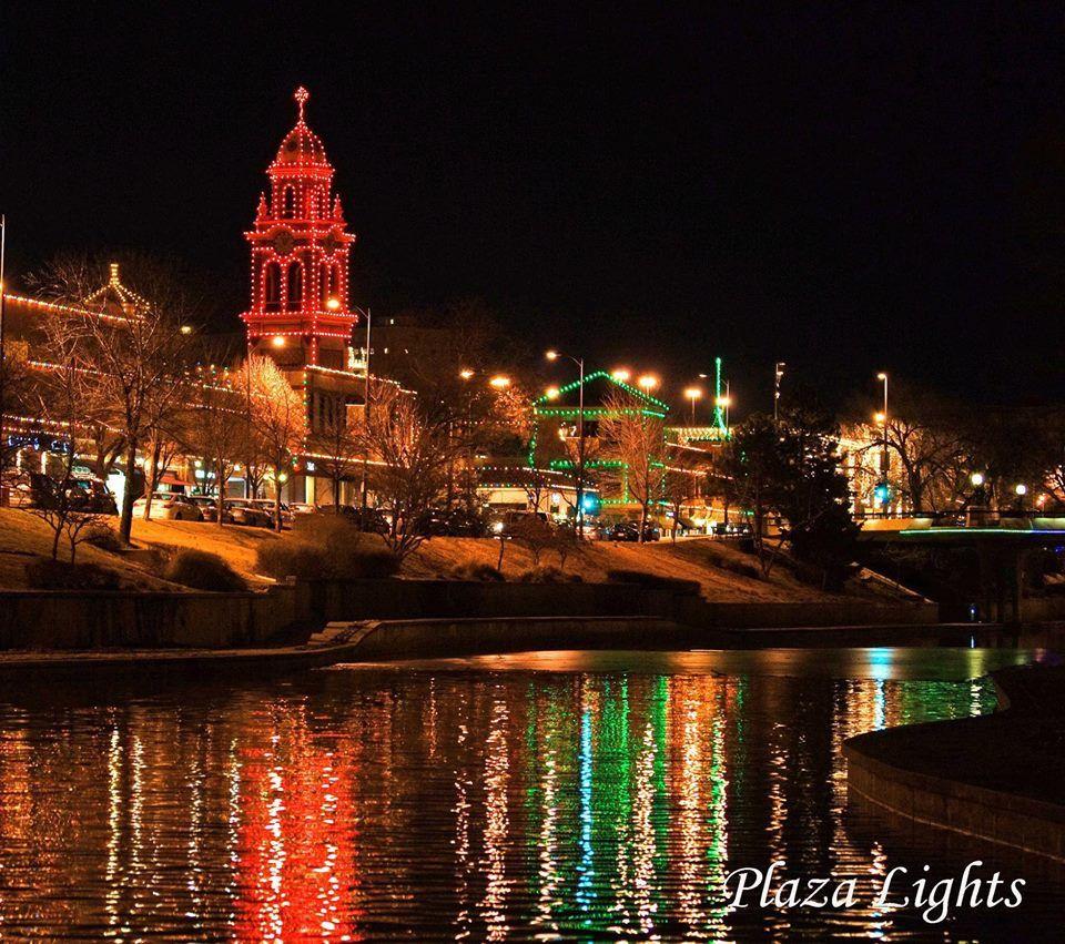 KC Plaza Lights   Jeannie Blau