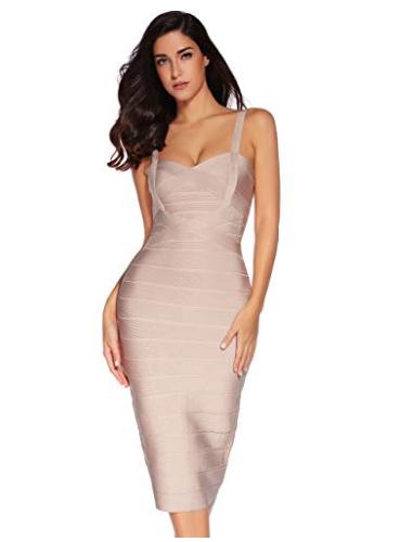 e85f4215975 Missy Off Shoulder Straps Bandage Dress - Betty Abyssinia