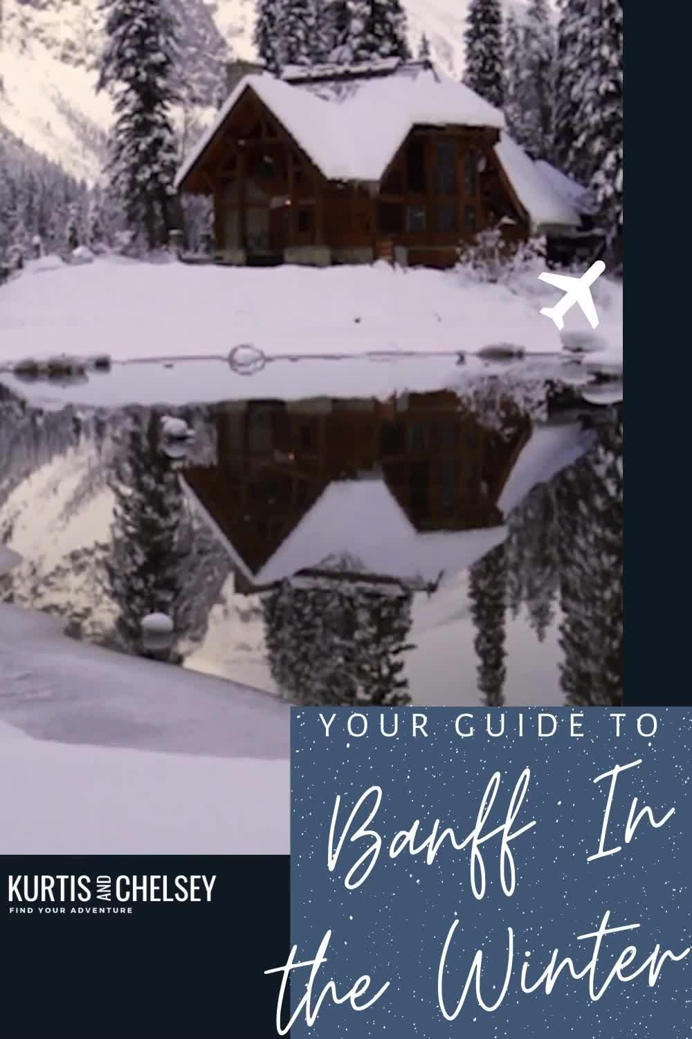 Complete guide to the best winter activities in Banff National Park.   #banff #alberta #travelalberta #nationalpark #canada