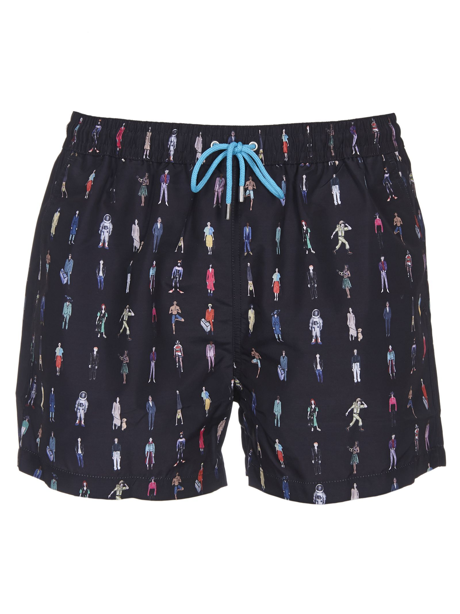 0751359664 PAUL SMITH PEOPLE PRINT SWIM SHORTS. #paulsmith #cloth | Paul Smith ...