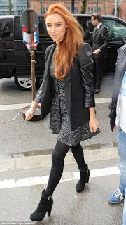 She Wore IT - Lipsy as seen on The Saturday's Una Healy