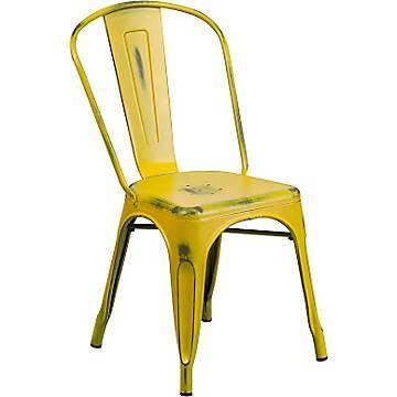 flash furniture distressed metal indoor stackable chair yellow et3534yl apartment ideas pinterest stackable chairs apartment ideas and apartments