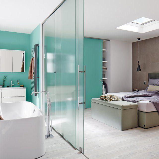 epingle sur des salles de bains tendance