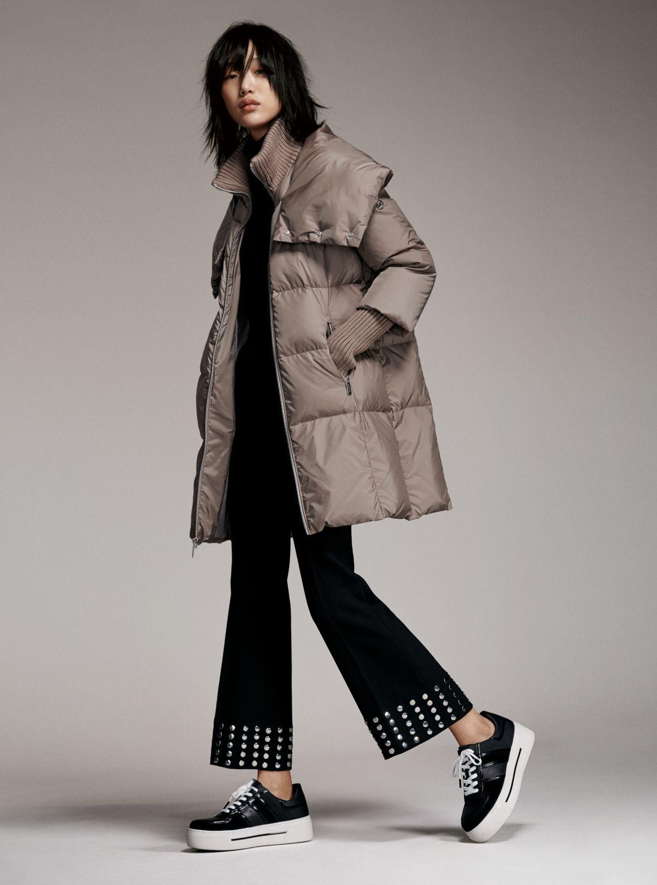 MICHAEL Michael Kors Nylon Oversized Puffer Jacket  89c26a76d57fd