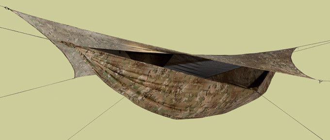 Medium image of survivor multicam camo classic  u2013 hennessy hammock