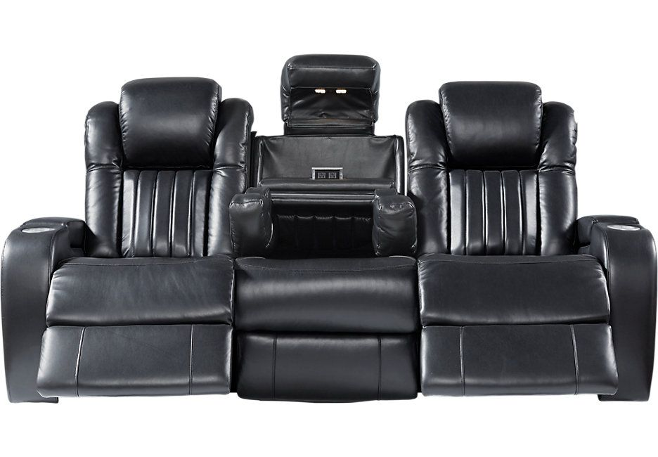Garson Black Power Plus Reclining Sofa In 2018 Home Wish List