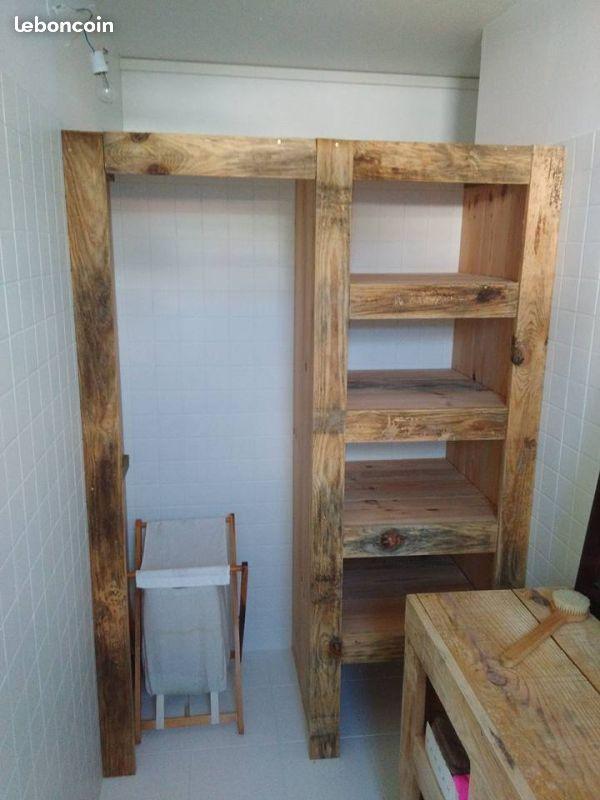 dressing en planche de coffrage diy meubles planche de. Black Bedroom Furniture Sets. Home Design Ideas