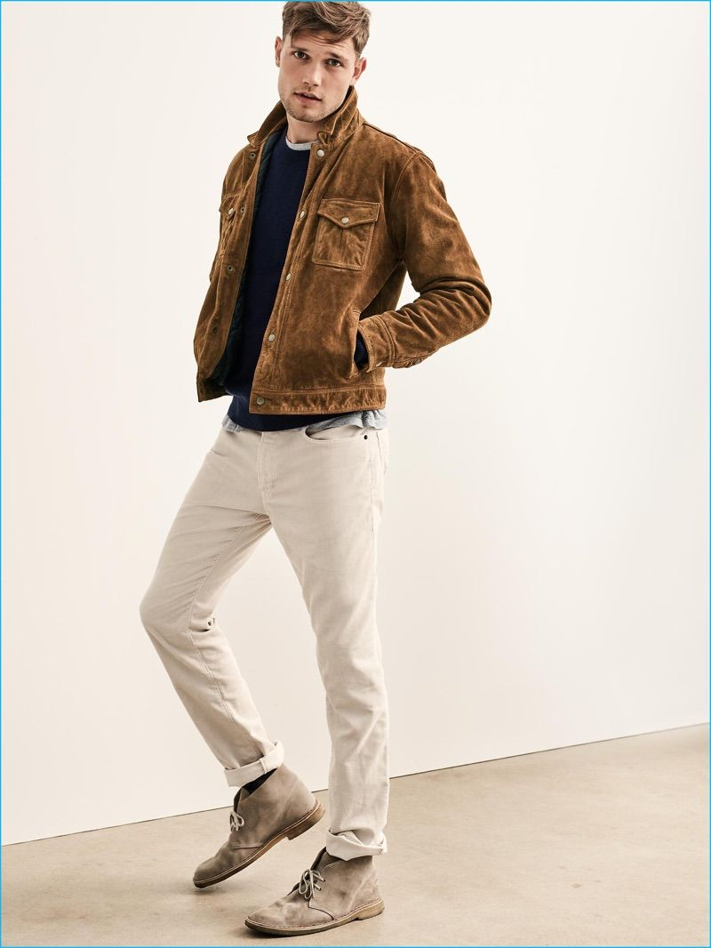 Gap 2016 Fall Men 39 S Essentials Brown Suede Men 39 S