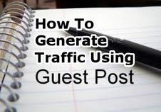 How To Generate Traffic Using Guest Postings. Guest Post  http://normanmcculloch.com/wp/how-to-generate-traffic-using-guest-blogging/