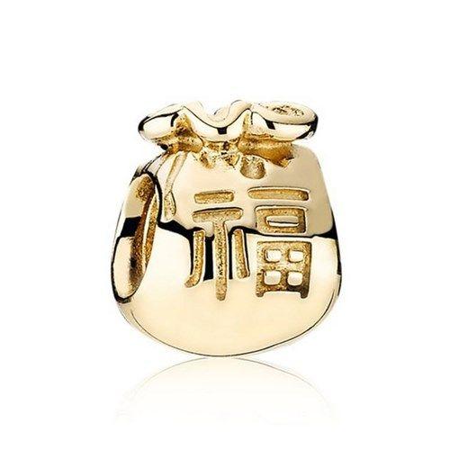 a199f7dce PANDORA Money Bag Gold Charm 750990 | Hong Bao | ...My Pandora *Wish ...