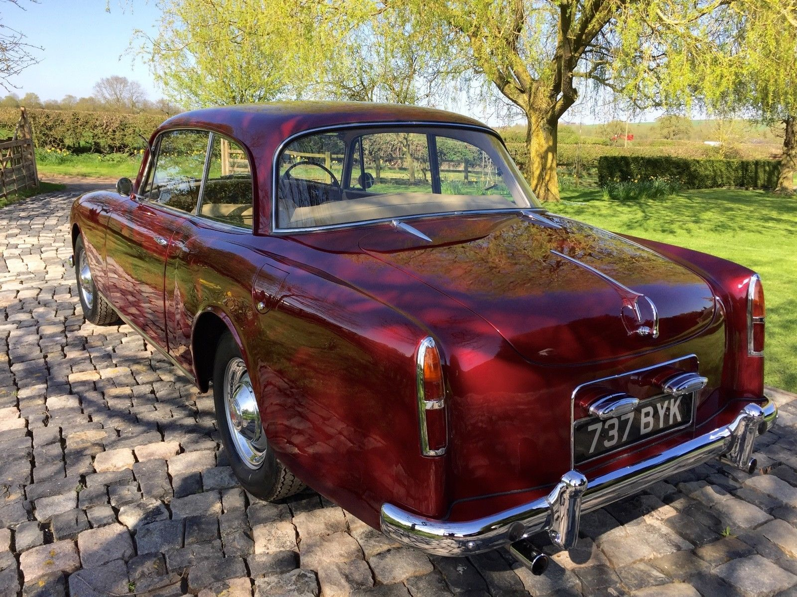 eBay: 1961 Alvis TD21 , manual, 15,700 miles, true 50s gentlemans sports  coupe #classiccars #cars