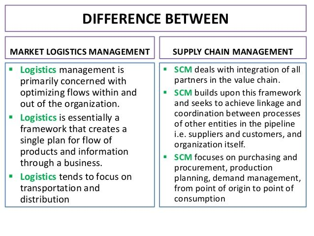 Difference between logistics and transportation pdf