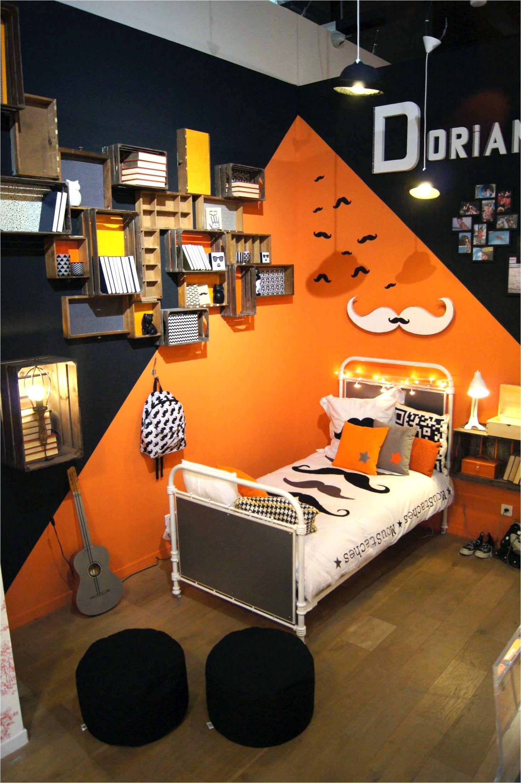 Deco Chambre Design Marron Orange en 18  Chambre enfant