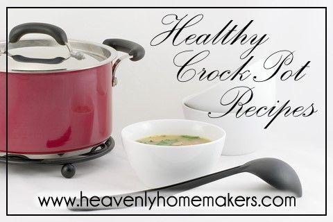 Creamy Crock Pot Chicken and Rice | Heavenly Homemakers #healthycrockpots