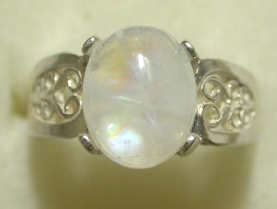 Moonstone is sometimes considered the birthstone for those born in June with the sun in Cancer which I was.