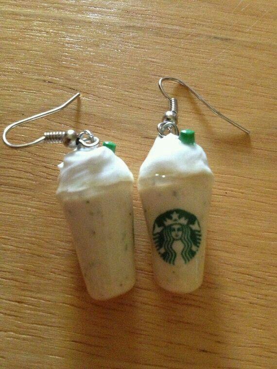 Starbucks Frappuccino earings