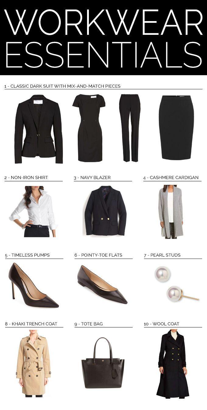 0f90c101a TOP 10 WORKWEAR ESSENTIALS // Workwear wardrobe guide for professional women  {Hugo Boss, Burberry, Ralph Lauren, Tory Burch, Jimmy Choo, J Crew, ...