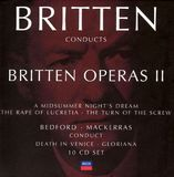 Britten Conducts Britten: Operas 2 [CD]