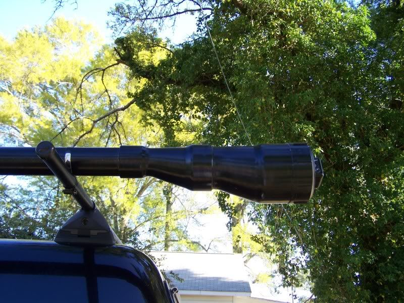 What pipe fitting is this community for Fishing rod car rack