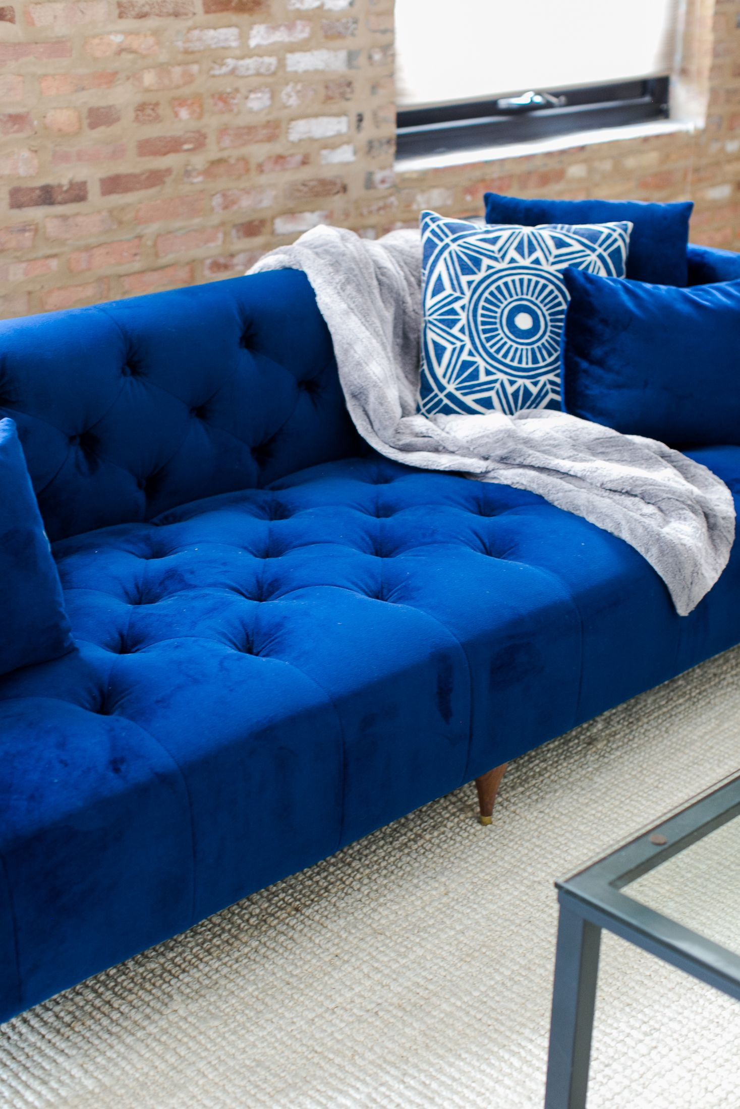 Don T Shy Away From Brightly Colored Sofas They Can Become The Focal Point Of Your Living Room And Are Easier To Pair Home Decor Colors Custom Sofa Furniture