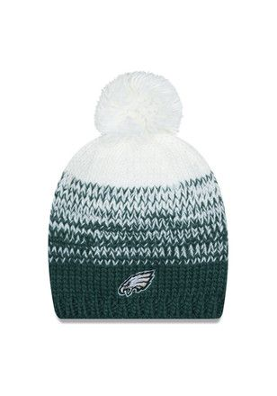 9b2e5453 New Era Philadelphia Eagles Midnight Green Polar Dust Knit Hat | NFL ...