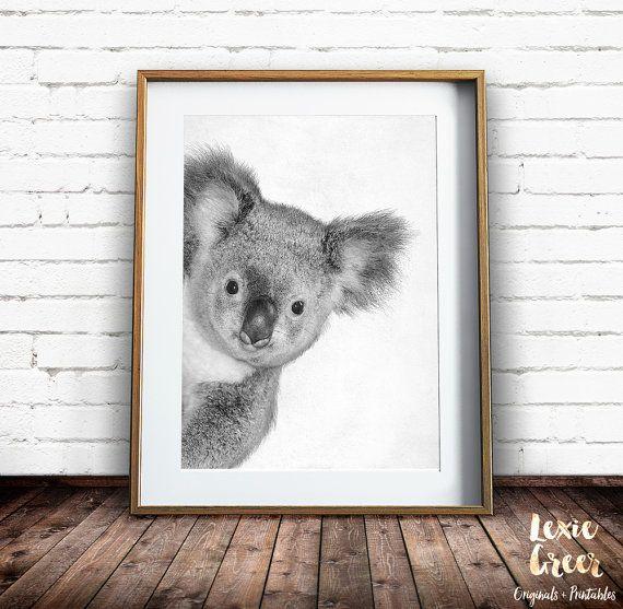 BEAUTIFUL koala-bear-Painting Print Home Decor Wall Art choose your size