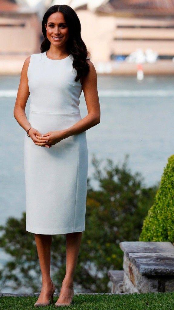 Mamae Meghan Markle Usa R 13 6 Mil Em Vestidos Na Australia