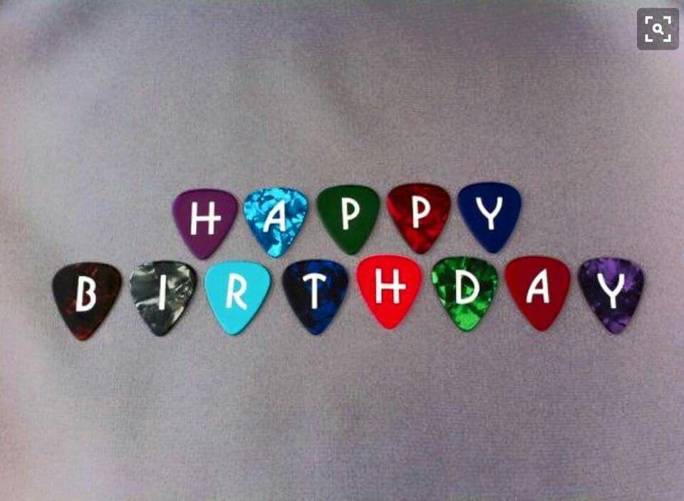 Birthday Wishes Male Beer ~ Happy birthday guitar picks happy birthday happy
