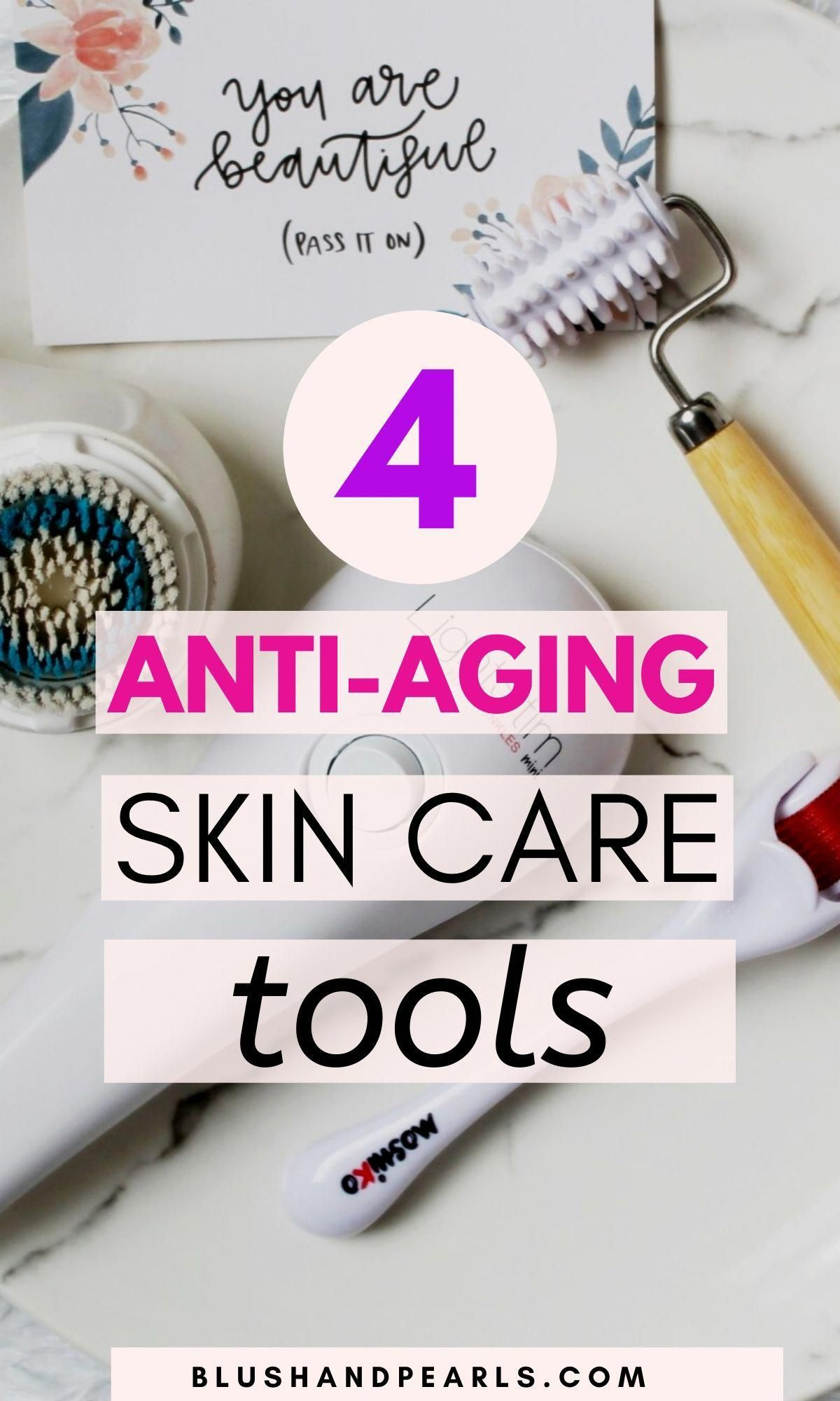 4 Anti Aging Skin Care Tools I Ve Been Neglecting In 2020 Skin Care Tools Aging Skin Anti Aging Skin Care