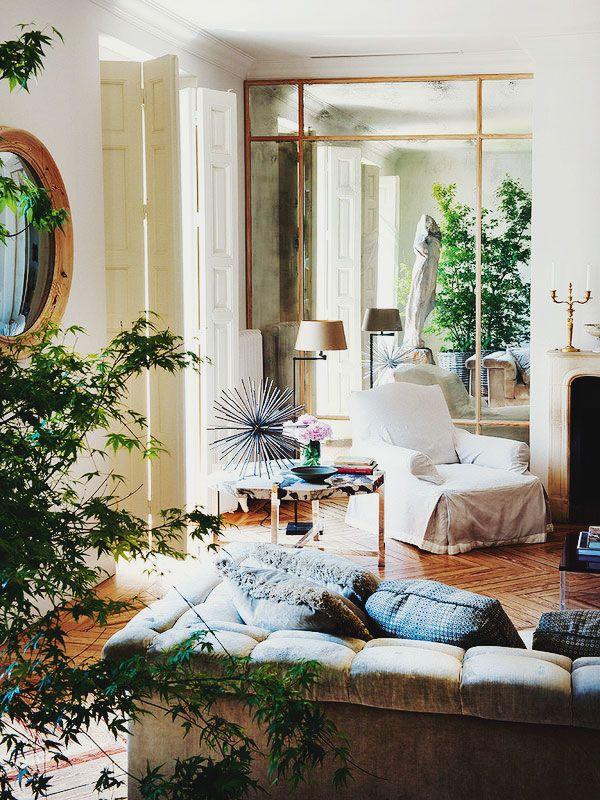 {décor inspiration | interior designer : luis puerta, madrid}