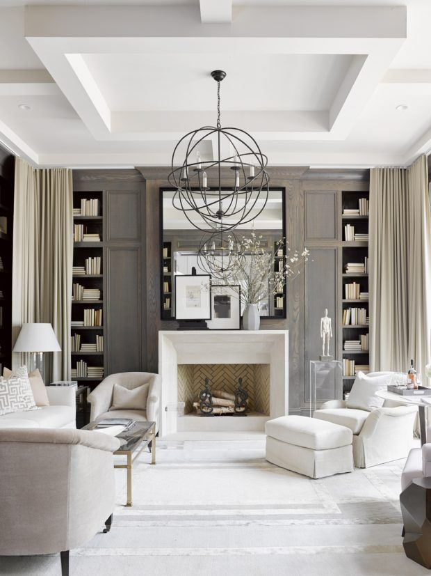 swoon worthy interiors from the southeastern designer showhouse also study incorporat bookshelf styling rh pinterest
