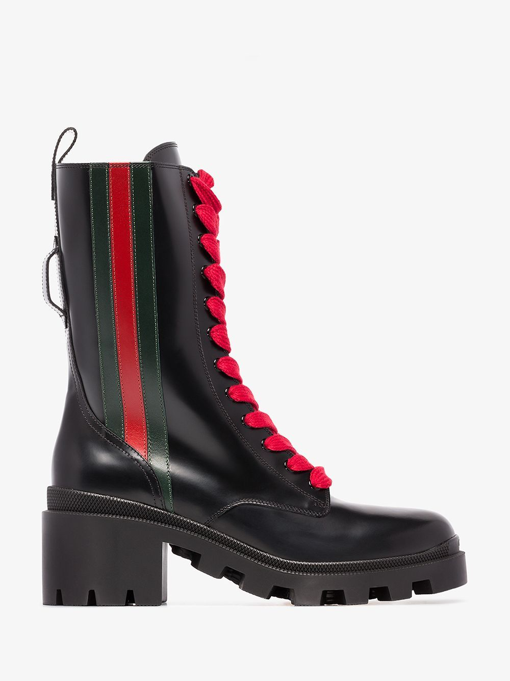LEATHER BOOTS. #gucci #shoes