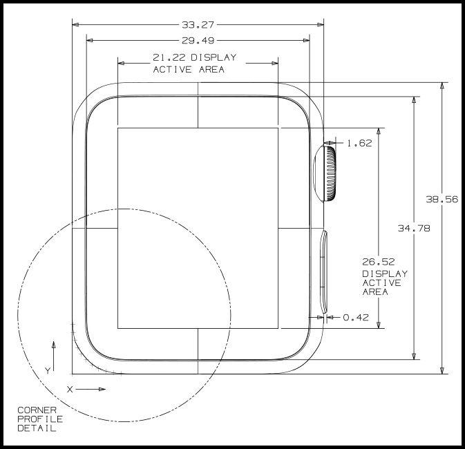 apple releases apple watch cad drawings core77 diseÑo industrial