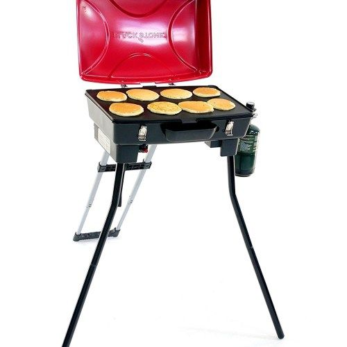 portable grill for outdoor cooking  camping and tailgating