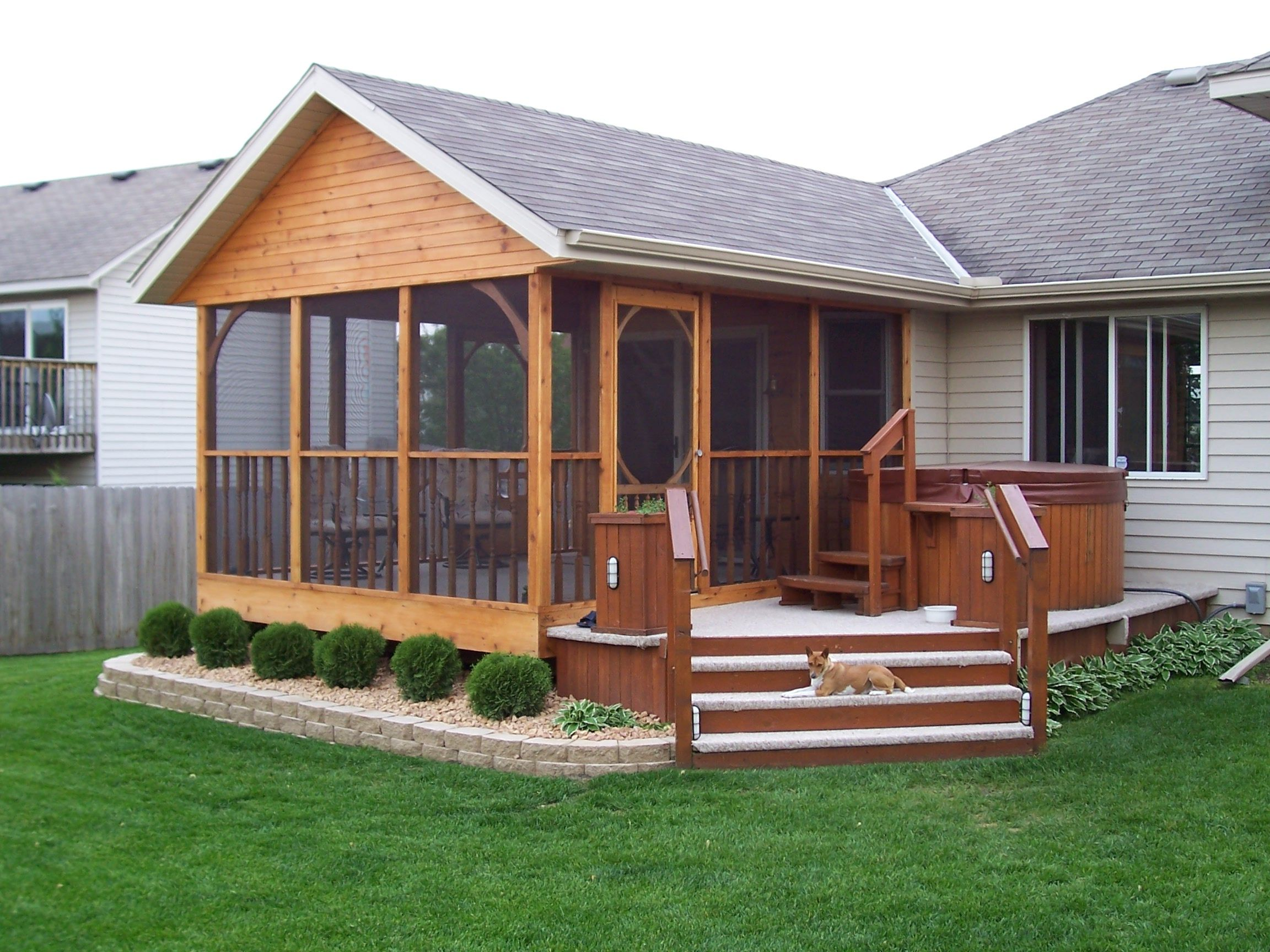 Love The Deck Added On Needs Some Paint On The Porch