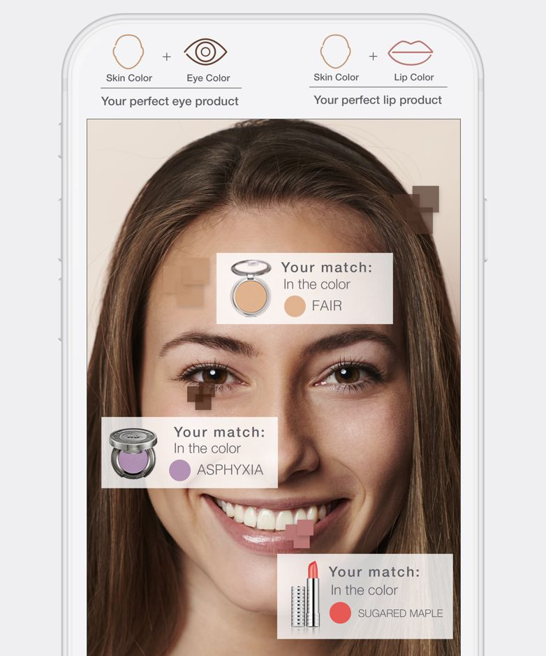 An App That Finds Your Best Makeup Shades Instyle Com Makeup Shades Makeup App Perfect Makeup